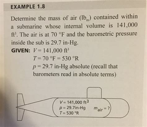 sat absolute patterns 7 practice tests volume 1 books exle 1 8 determine the mass of air lbm contai