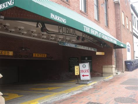 Parking Garage Georgetown by Georgetown Mall Garage Now Open 24 Hours Daily