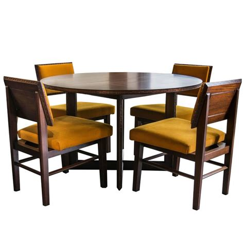 henredon dining room sets frank lloyd wright for henredon dining table with chairs