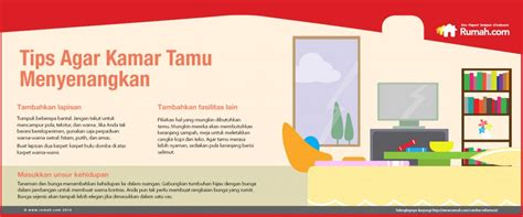 tips membuat infografis infografis tips membuat kamar tamu nyaman tips