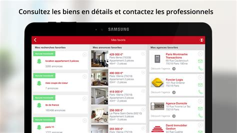 Play Store Location Seloger Location Immobilier Applications Android Sur