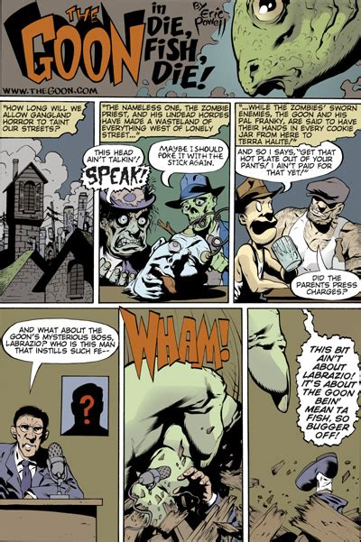 The Goon Volume 1 Nothin But Misery 2nd Edition the goon volume 1 nothin but misery 2nd ed profile comics