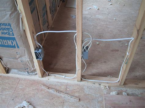 lovely how to run electrical wire through studs pictures