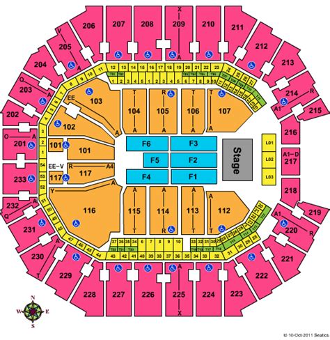 time warner seating chart time warner cable arena tickets and seating chart