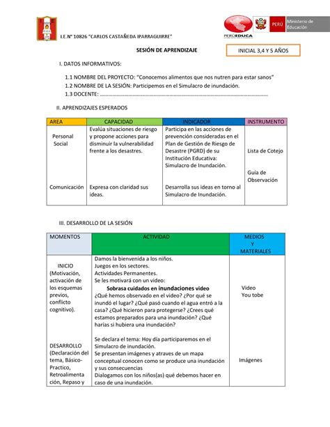 lista de cotejo formato apa febrero 2015 esslidesharenet lista de cotejo de inicial 2015 lista de cotejo formato