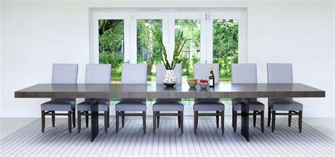 Extra Large Dining Tables. Wide Oak & Walnut Extending
