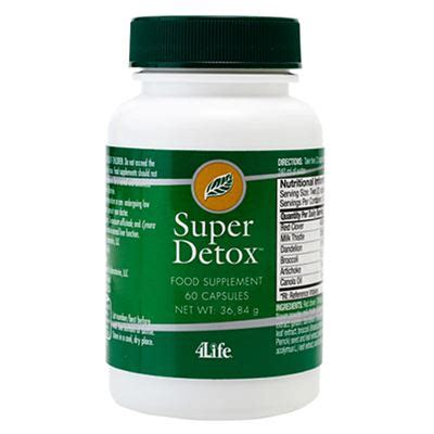 Supersonic Detox by Detox 4life Transfers Transfer Factor Products