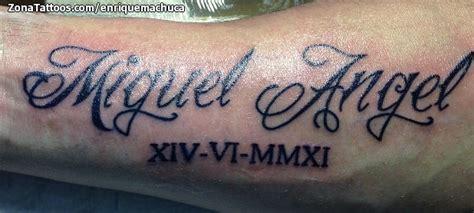 tattoo angel nombre tatuaje de miguel 193 ngel nombres
