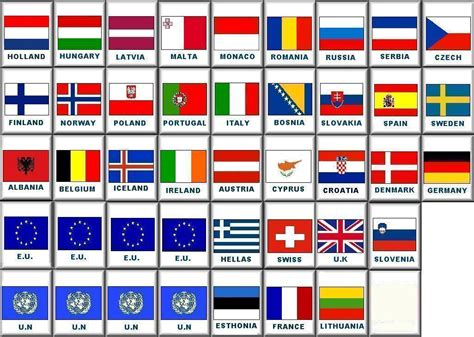 country flags european flags tileset for kyodai mahjongg mahjongg