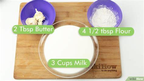 Pengorengan Serbaguna 1 Untuk Semua Tanpa Kompor Ubf2 4 cara untuk membuat saus bechamel wikihow