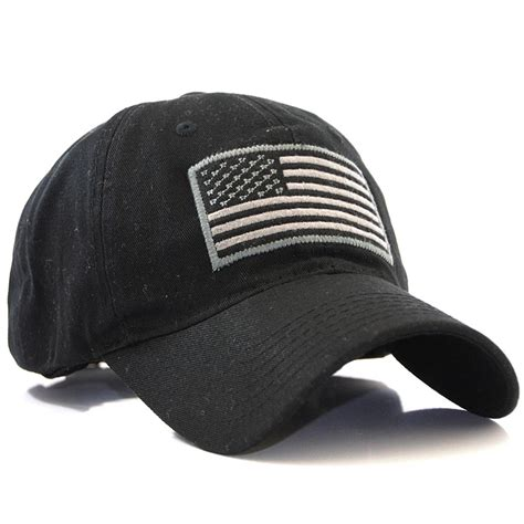 us flag patch tactical style cotton trucker baseball cap hat