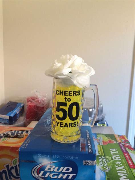 mug centerpieces 50th bday mug centerpiece my diy p