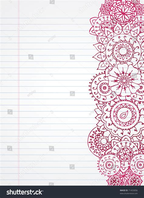 Border Paper Writing Paper Template With Border