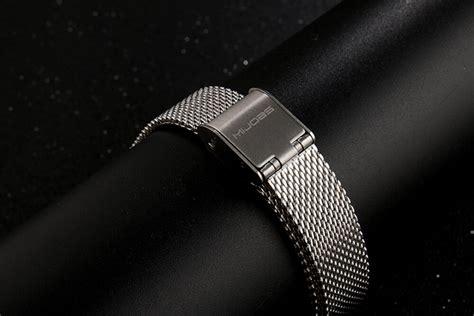 Mijobs Milan Stainless Steel Wrist Xiaomi Mi Band Unix mijobs replacement metal for xiaomi mi band 2 silver