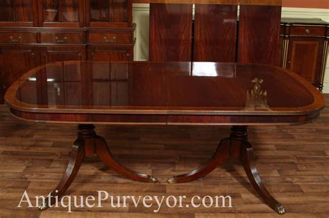 mahogany dining room table mahogany dining room regency table ebay
