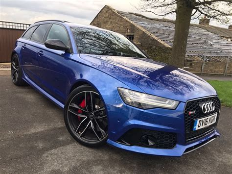 Audi A6 V8 by Audi A6 4 0 Rs6 Avant Tfsi V8 Quattro 5dr Automatic For
