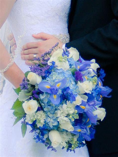 17 Best ideas about Blue Wedding Bouquets on Pinterest