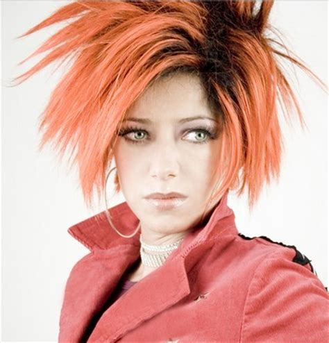 funky hair color ideas for older women funky hair colors for older women emo hair cuts 2015 funky