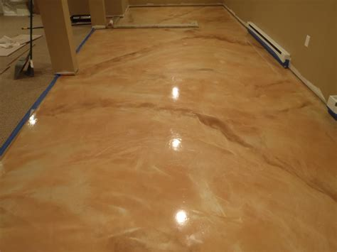 Epoxy Floor by Metallic Epoxy Floor Best Best Images About Epoxy Overlay