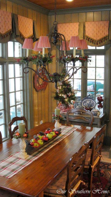 christmas home  downstairs french country kitchens