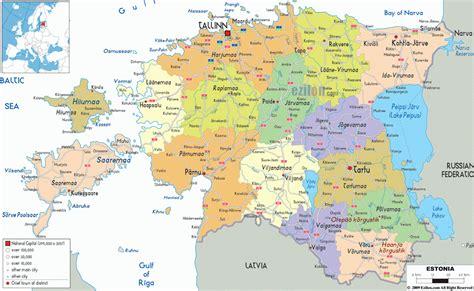 estonia on the world map estonia tourist destinations