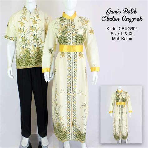 Kemeja Batik Anggrek Hijau gamis batik cibulan anggrek gamis batik