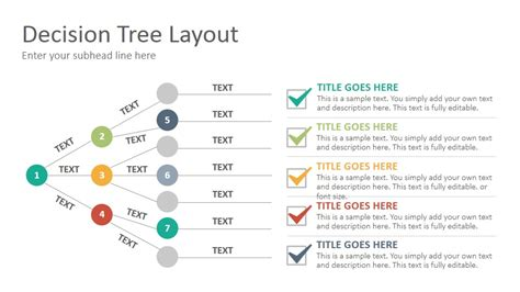 Decision Tree Diagram Template by Decision Trees Diagrams Slides Presentation Template