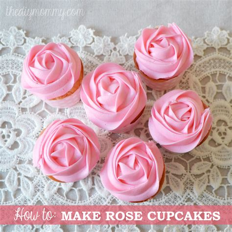 how to make icing roses on cupcakes with a 1m tip the diy mommy