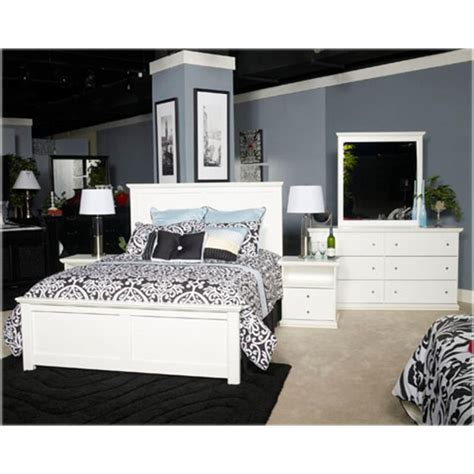 bostwick shoals bedroom set b139 87 ashley furniture bostwick shoals white full
