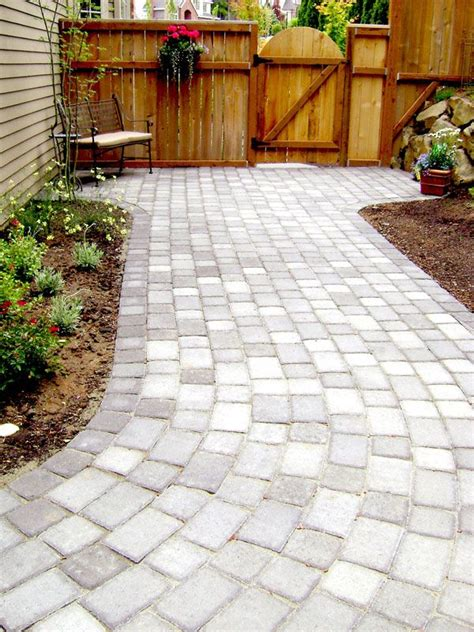 Backyard Patio Pavers Backyard Patio Pavers Outdoor Projects Pinterest