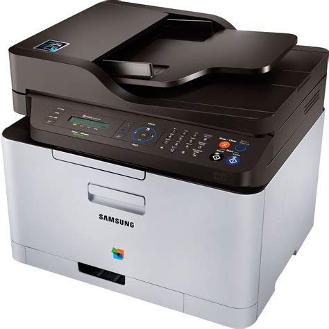 samsung laser color printer samsung xpress c460fw color all in one laser sl c460fw xaa b h