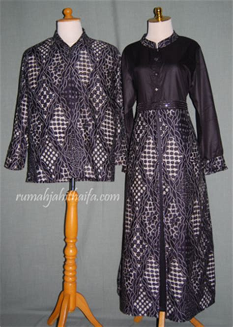 Gamis Abaya Clarissa Batik Kemeja Batik abaya batik rumah jahit haifa