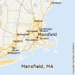 mansfield map best places to live in mansfield massachusetts