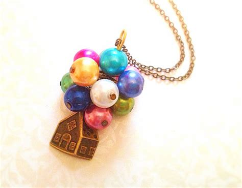 15 Adorable And Stylish In Inspired Jewelry by Up Inspired Necklace Colorful Balloons Vintage By