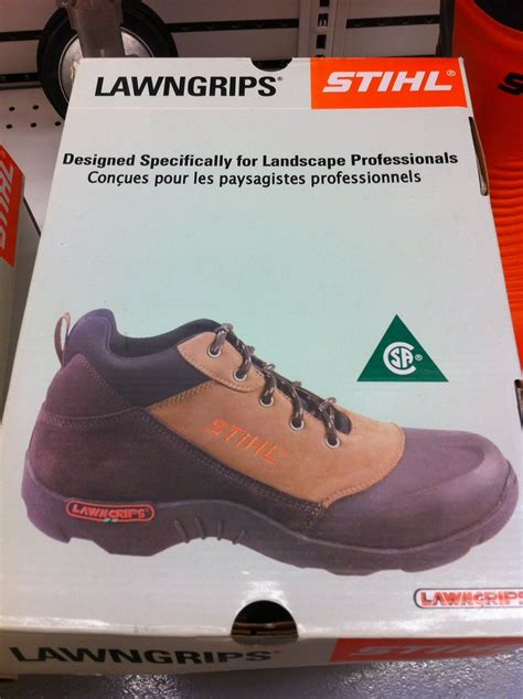 Landscaper Shoes Landscaping And Property Maintenance Stihl Lawngrips