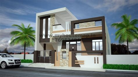 exterior home design house elevation 3d