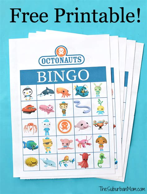Homemade Christmas Decorations For The Home by Octonauts Birthday Party Free Printable Bingo Game