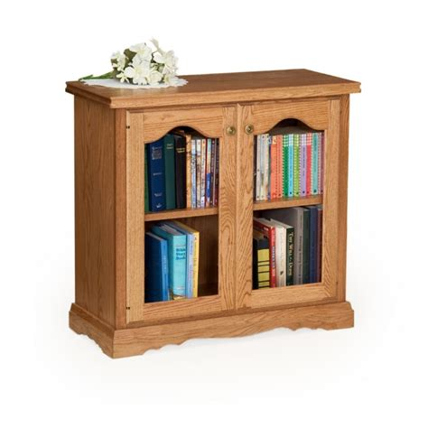 Kitchen Cabinets Wood Choices by Traditional 30 Quot Bookcase With Doors Amish Traditional 30