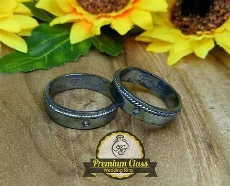 Cincin Kawin Bahan Palladium Emas Istimewa cincin kawin palladium p138bg jual cincin palladium