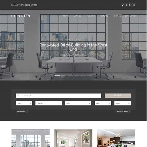 london themes wordpress 10 best real estate wordpress themes templates for 2018