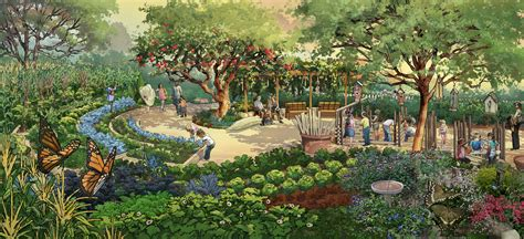 Botanical Gardens In Atlanta Ga Atlanta Botanical Grows Support For Nourish And Flourish Enhancements Atlanta And