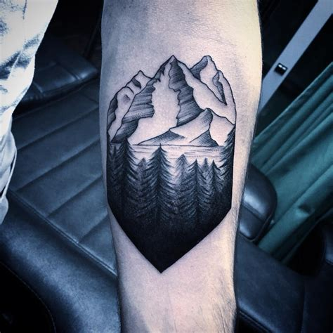 moutain tattoo 28 mountain tattoos mountains on sleeve 25