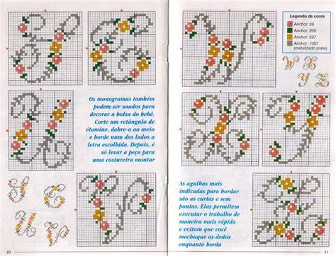 lettere minuscole punto croce alfabeto fiorellini maiuscolo 4 magiedifilo it punto