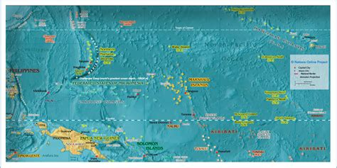 micronesia map kartor oceanien och stilla havet maps oceania and pacific