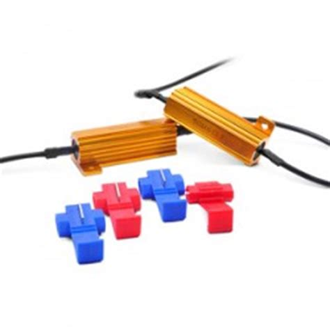 recon load resistor kit canbus led resistor kits 10w 25w 50w flicker free hyper flash fix load resistors