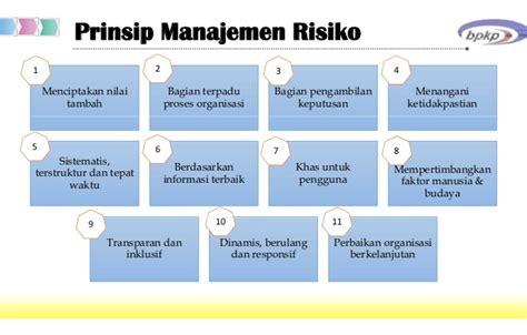 Manajemen Risiko Prinsip Penerapan Dan Penelitian kajian penerapan manajemen risiko di bpkp a heri s dan dimas