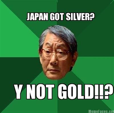 Gold Memes - meme faces japan got silver y not gold