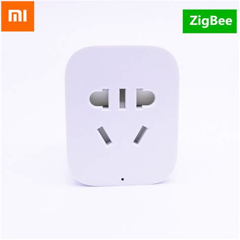 Xiaomi Smart Socket With Wifi Wireless Remote original xiaomi zigbee smart socket wifi remote timer charger wireless us