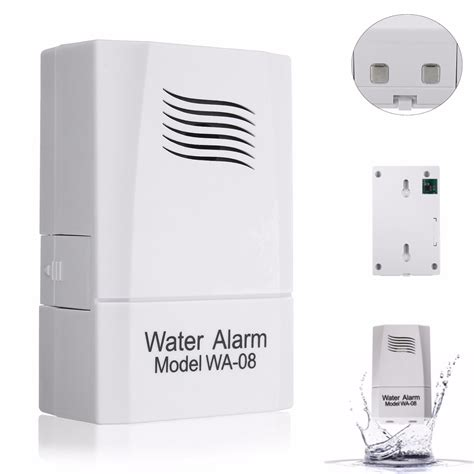 wa 08 wireless water leak sensor water level alarm alert