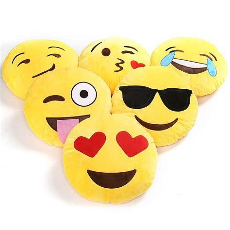 Emoticon Pillows yellow cushion soft emoji smiley emoticon stuffed